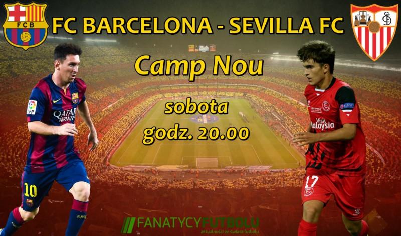 Hit 12. kolejki La Liga: Barcelona vs Sevilla