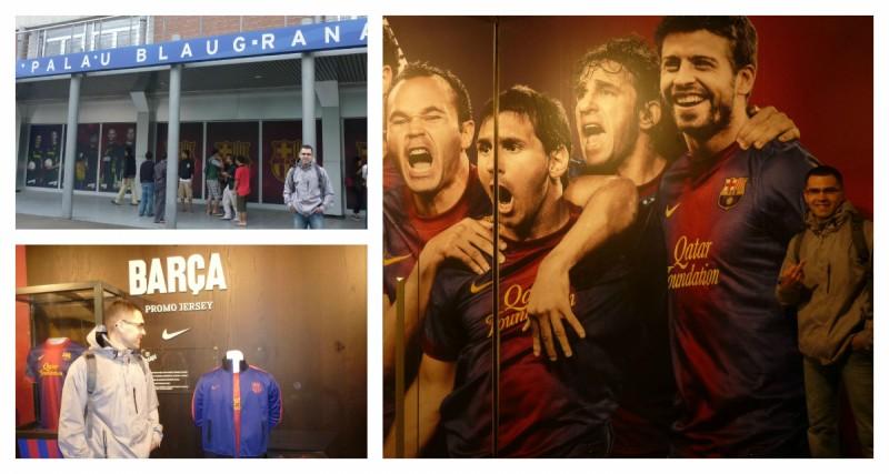 Dawno temu w Barcelonie :)
