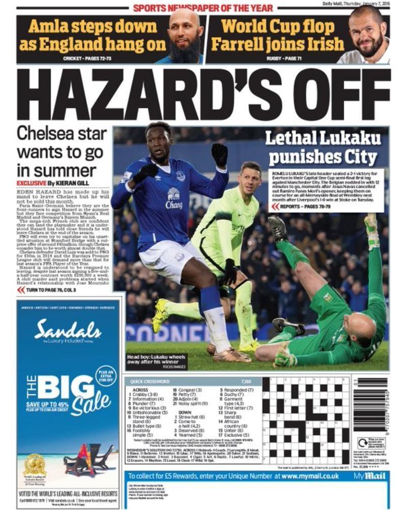 Eden Hazard postanowił opuścić Chelsea latem tego roku.