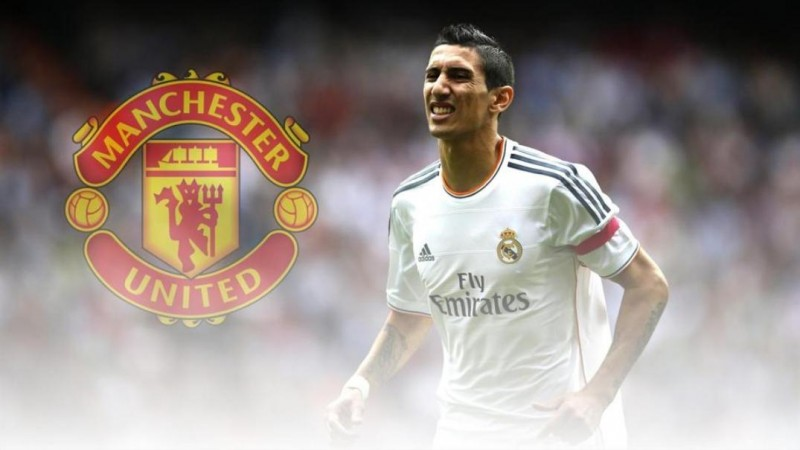 Angel Di Maria in Manchester
