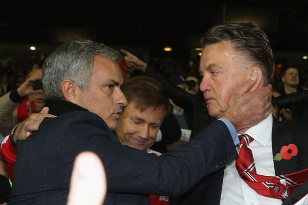 Manchester United's Louis van Gaal pondering quitting at the end of THIS season