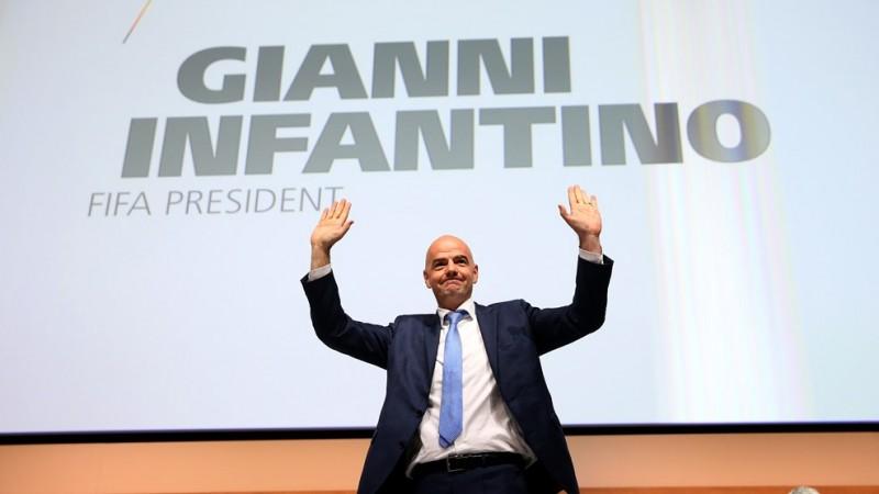 Gianni Infantino wybrany na prezydenta FIFA
