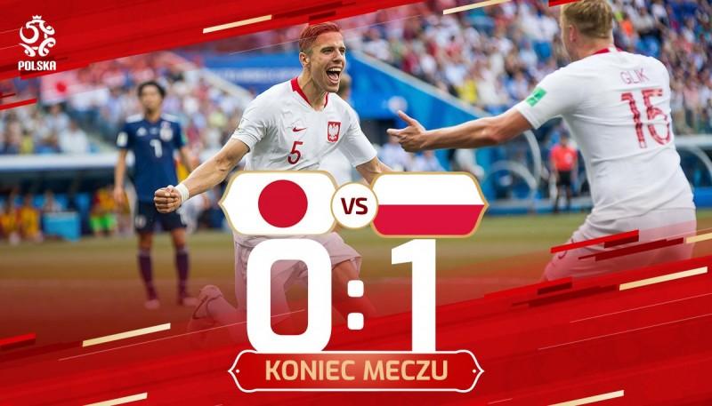 Polska 1-0 Japonia.Bednarek ratuje honor repr Polski