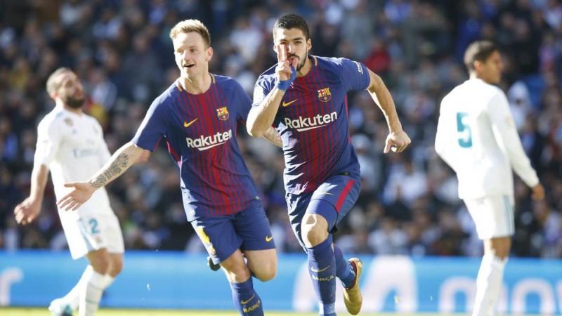 El klasiko Hiszpani.Barcelona-Real