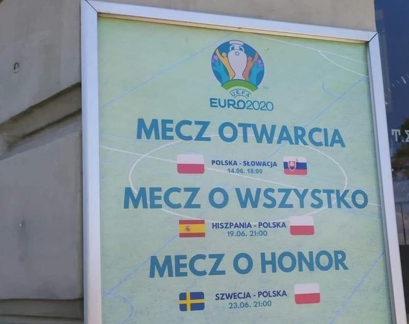 Prawdopodobny scenariusz repr. Polski na euro2021