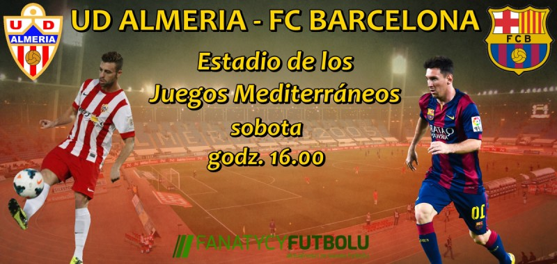 Barcelona o przełamanie w lidze, zapowiedź meczu UD Almeria – FC Barcelona (godz. 16.00)